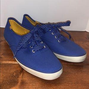 Vintage blue Keds woman's 8